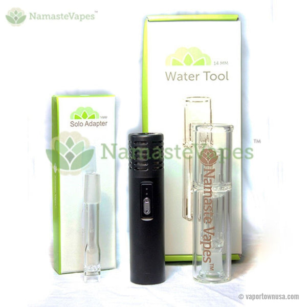 Arizer Air Vaporizer with Glass Water Tool and Adapter | NamasteVapes