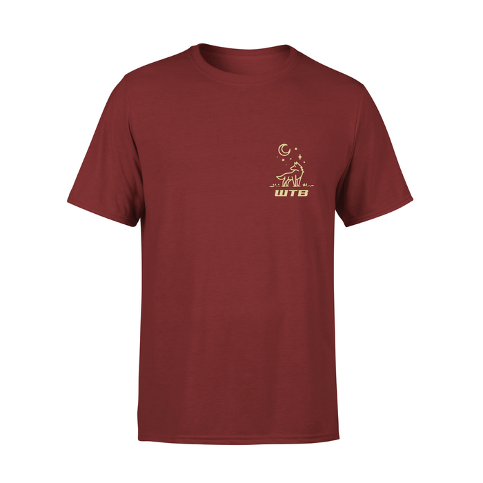 WTB Gravel Meets Trail Tee (Maroon)