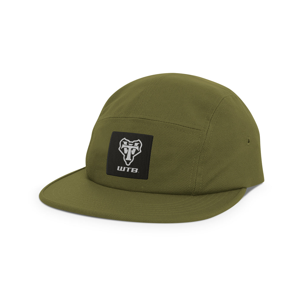 WTB Brand Signature 5 Panel Hat (Olive)