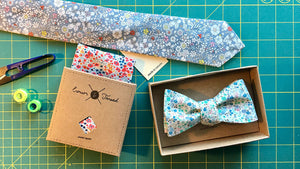 Liberty Floral Pocket Squares, Bows and Neck Ties
