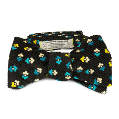 Flanel Floral Bow Tie