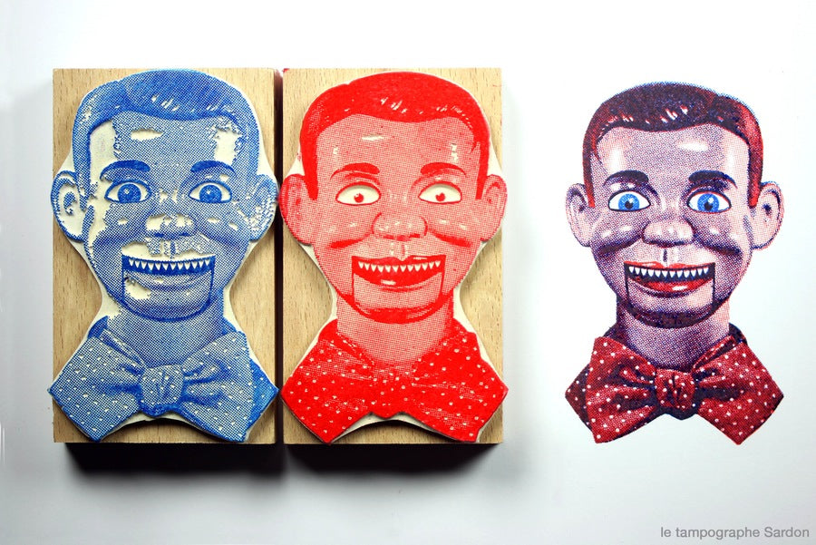 Rubber Stamps Ventriloquist