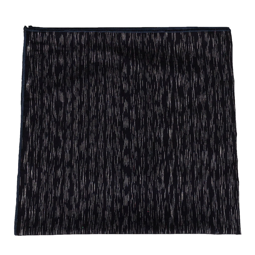 Alchemy Dark Navy Handwoven Balinese Cotton Bandana Made in Canada