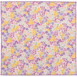 Aubrieta Floral Cotton Pocket Square Made in Canada