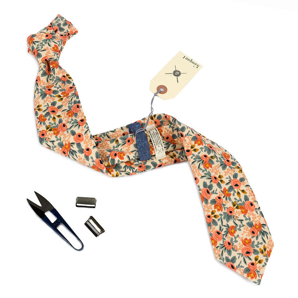 Floral Necktie Made in Canada