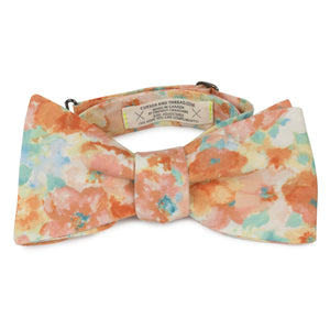 Colobri Floral Cotton Bow Tie