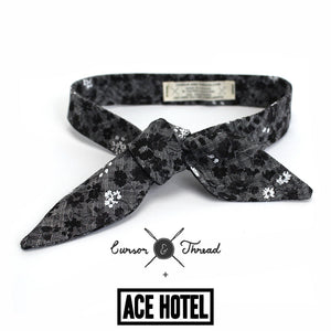 ACE Hotel Barnett Floral French Knot Bow Tie