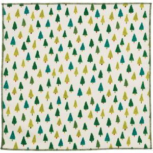Fraser Tree Cotton Pocket Square Made in Canada
