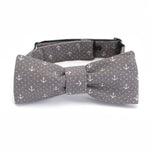 Cortez Anchor Bow Tie in Grey