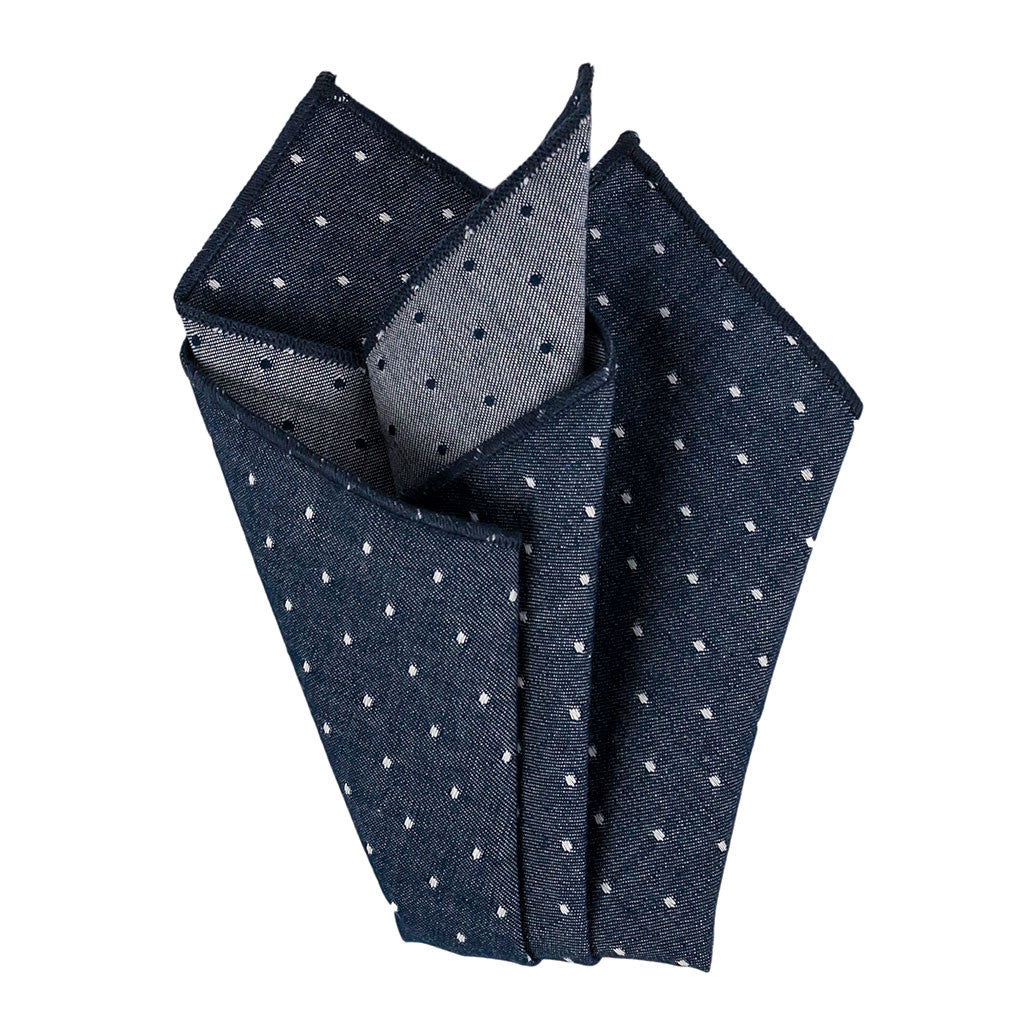 polka dot pocket square