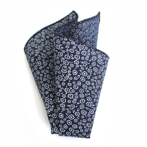 Lakeview Floral Pocket Square