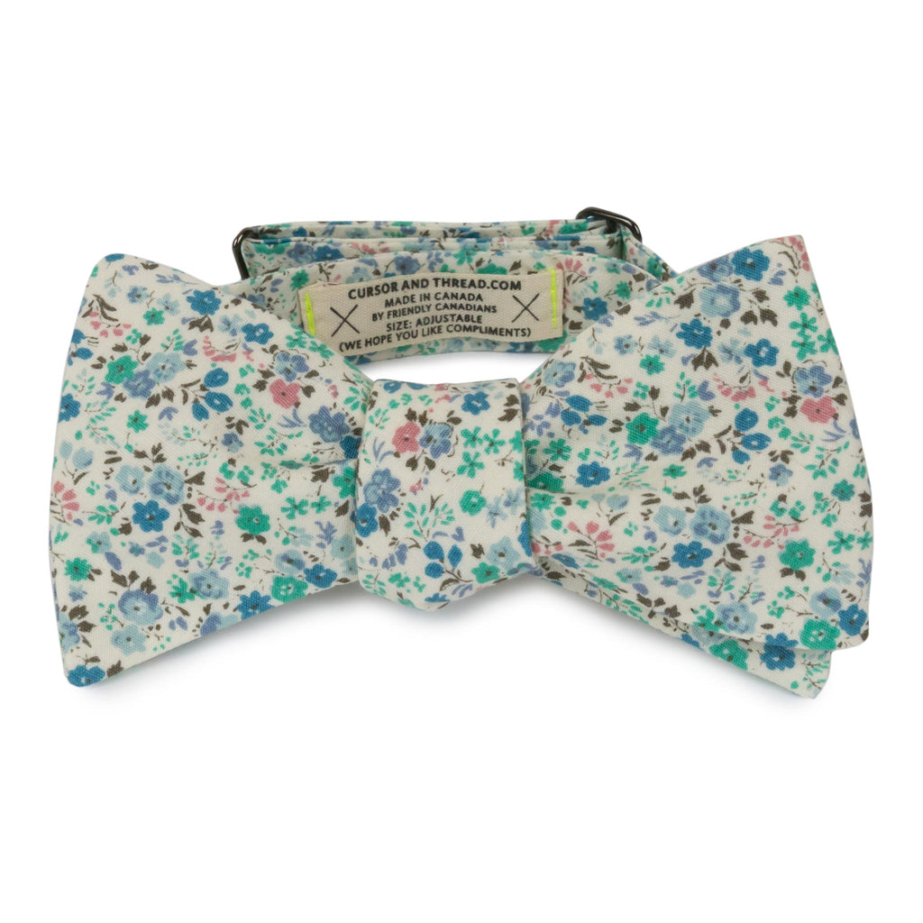 Liberty Floral Nantes Bow Tie Made in Canada
