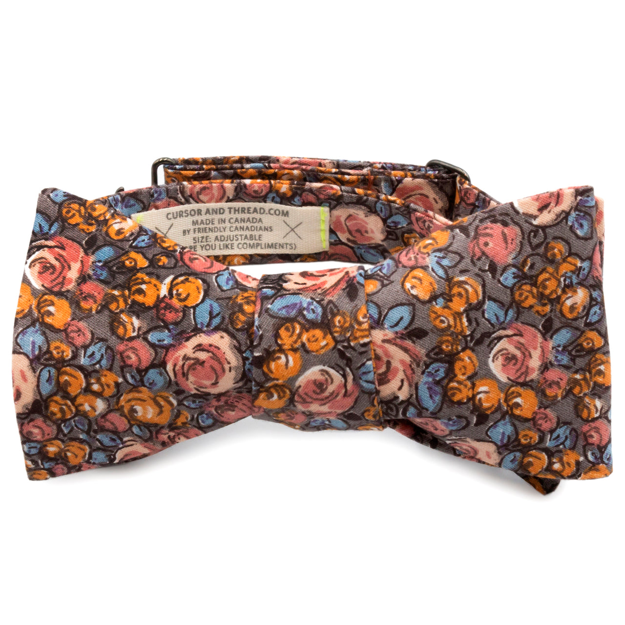 Stanley Rose French Cotton Bow Tie Made in Canada
