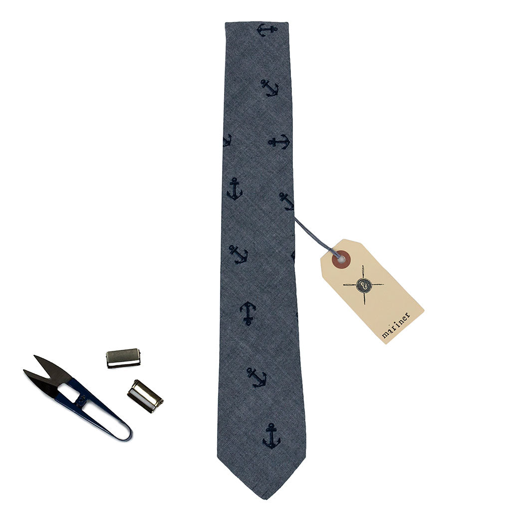 anchors necktie made in Canada