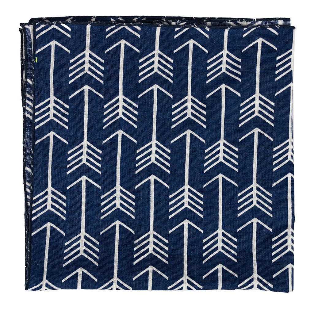 Navy Arrow Bandana