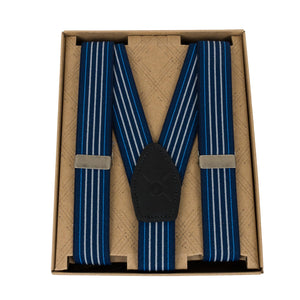 Blue Suspenders Made in Canada