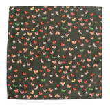 Clay Butterfly Cotton Pocket Square