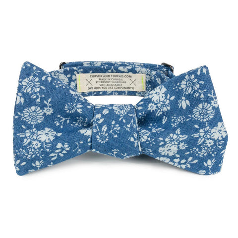 Floral Bow Tie Made in Canada