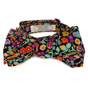 Floral Spice Bow Tie made in Canada