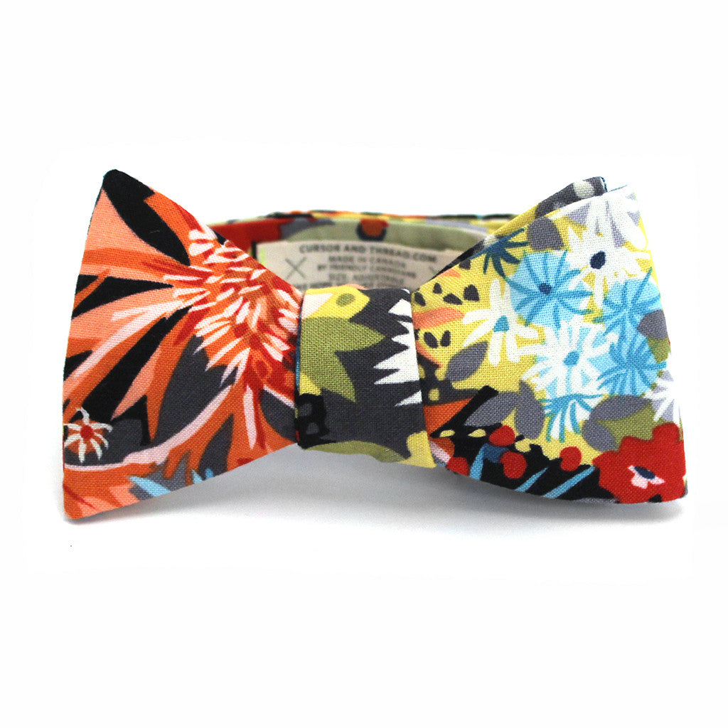 Island Floral Bow Tie