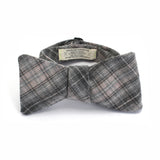 Oxford Plaid Flannel Bow Tie