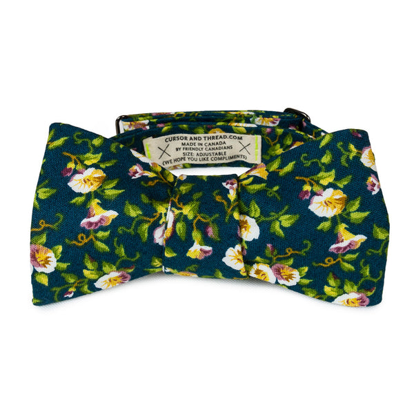 Reflect Floral Bow Tie