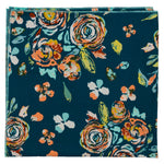 Rosa Turquoise Cotton Bandana Made in Canada