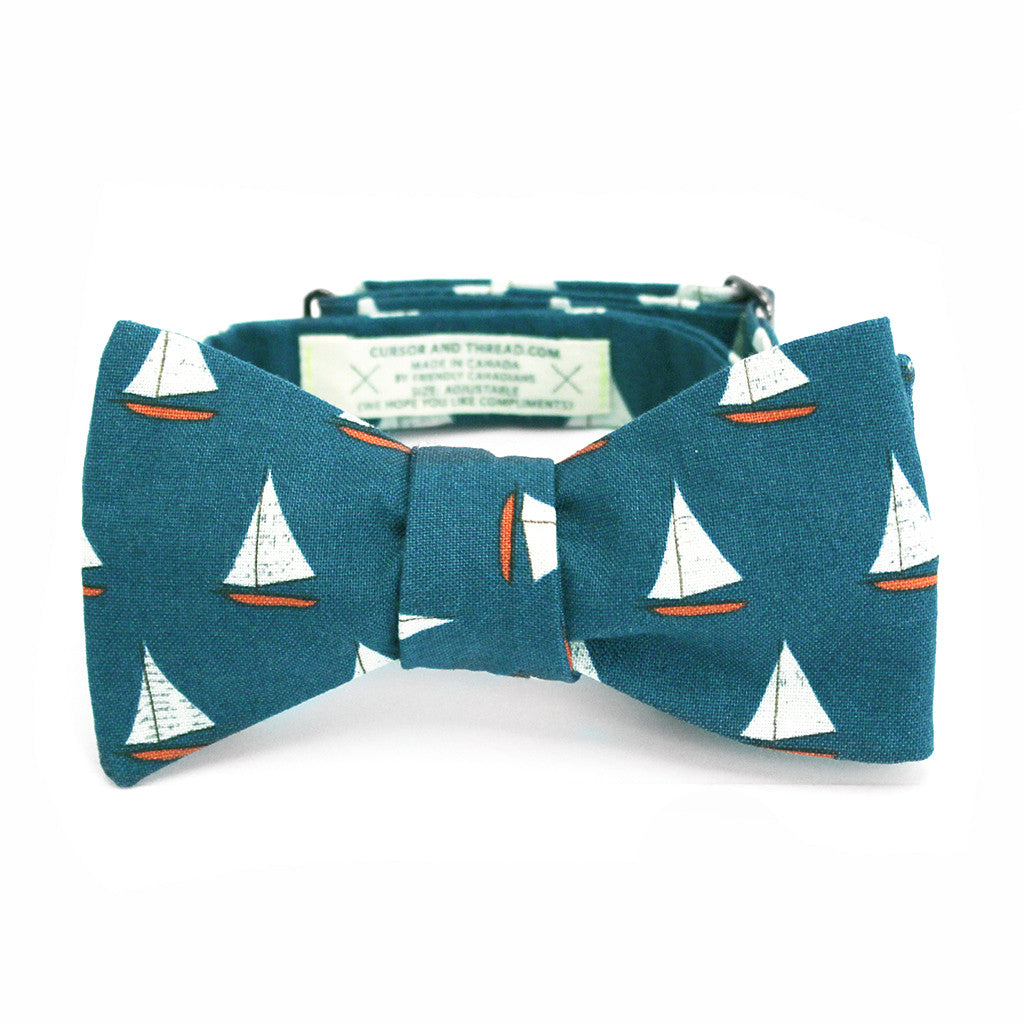 Tack Sailboat Bow Tie