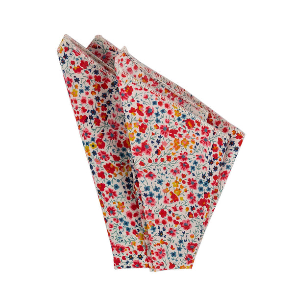 Floral Pocket Square made in Canada