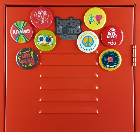 Peace & Music Magnets Bundle