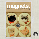 Kitties Magnet Set by Black Apple