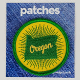 Oregon Sunburst Patch