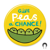 Give Peas a Chance Magnet by Gemma Correll