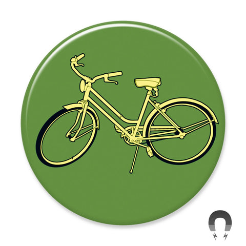 Green Bike Big Magnet
