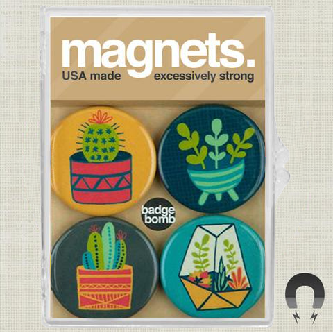 Cacti Magnet Set by Allison Cole