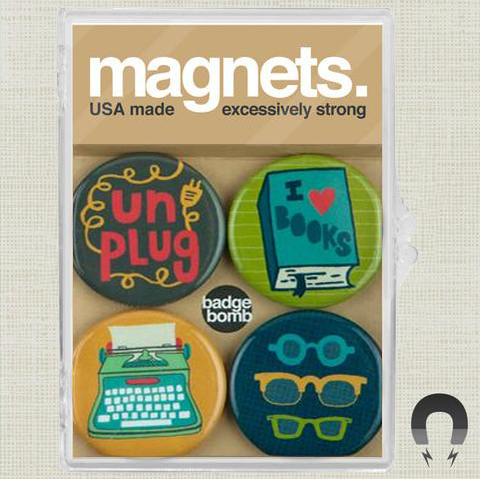 Unplugged Magnet Set by Allison Cole
