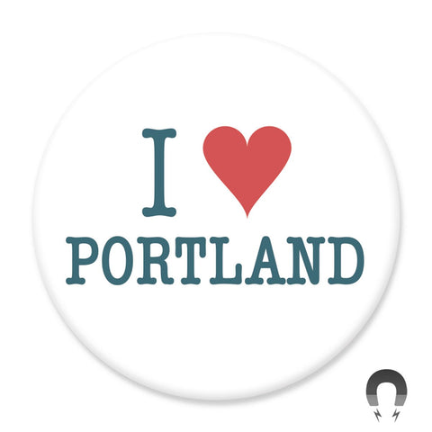 I Heart Portland Magnet by Hey Darlin'