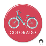Colorado Cruiser Bike Magnet by Hey Darlin'