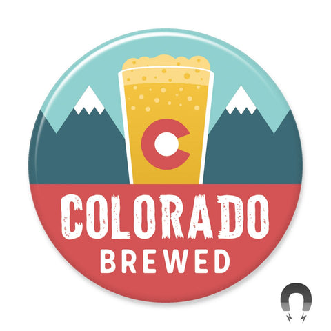 Colorado Brewed Magnet