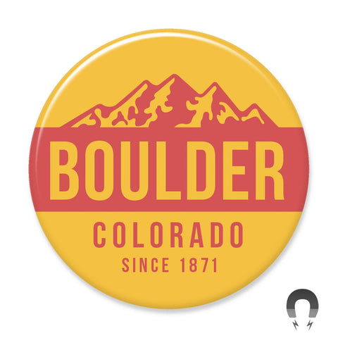 Boulder Colorado Big Magnet