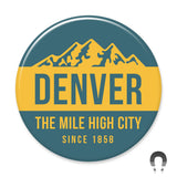 Denver Mile High City Big Magnet