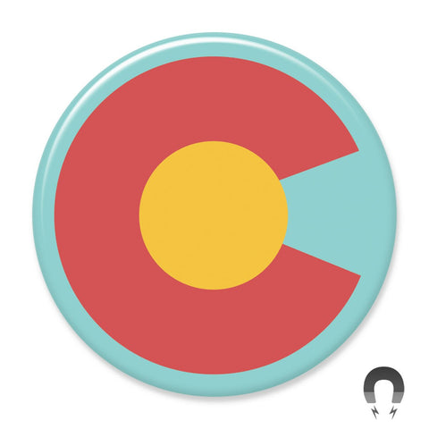 Colorado Flag Magnet by Hey Darlin'