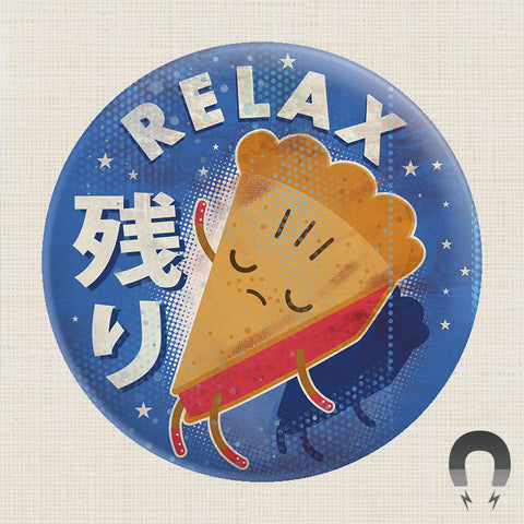 64 Colors Relax Pie Big Magnet