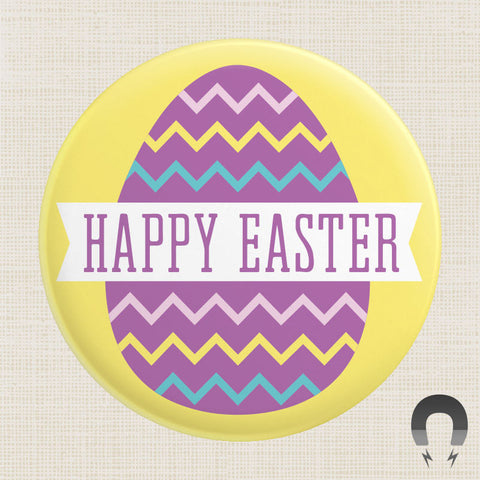 Happy Easter Egg Big Magnet by Crossroads Creative.