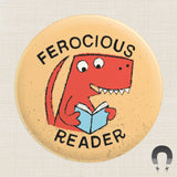 Ferocious Reader Big Magnet