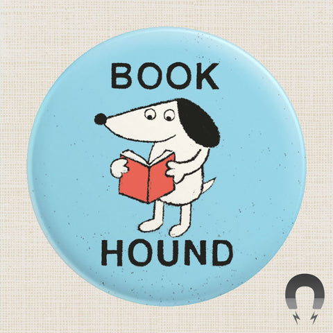 Book Hound Big Magnet