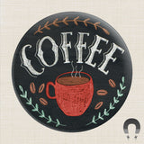 Coffee Big Magnet by Rebecca Jones