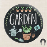 Garden Big Magnet by Rebecca Jones