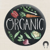 Organic Big Magnet by Rebecca Jones
