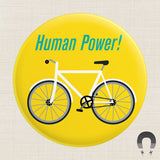 Human Power Magnet by Badge Bomb